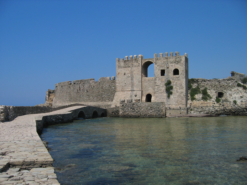 Fortaleza-de-Methoni
