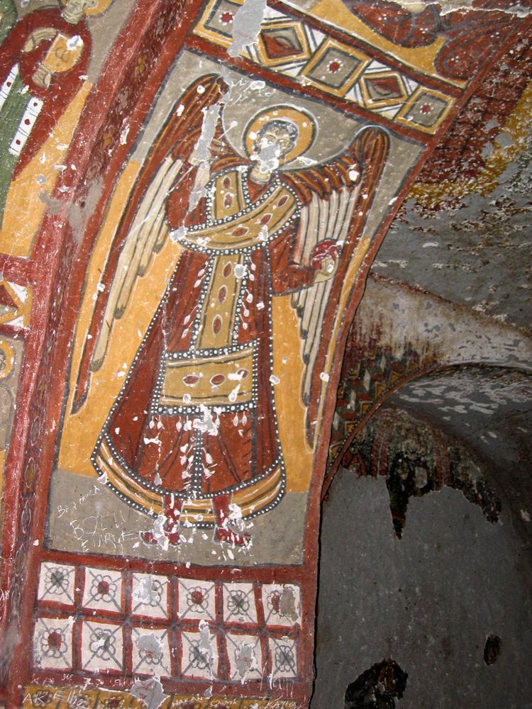 Fresco-de-una-de-las-iglesias-excavadas