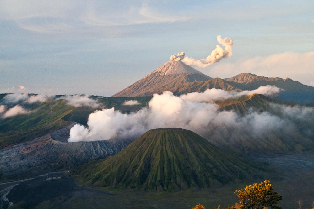 Los volcanes de Bromo