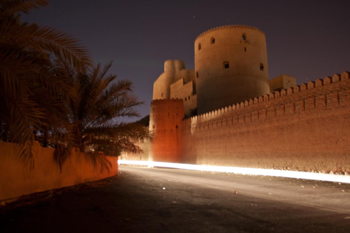 Fortaleza de noche
