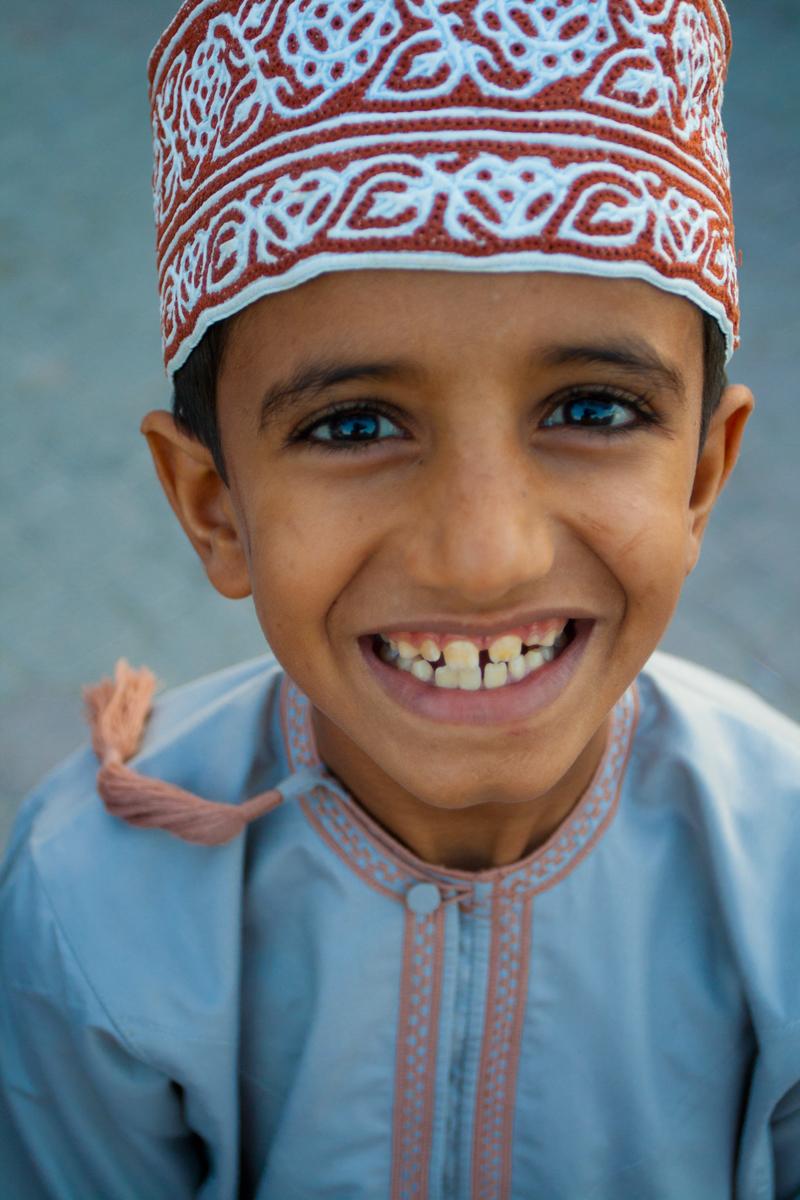 Niño en Al-Rustaq