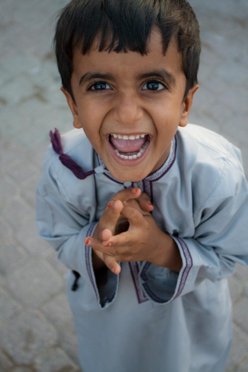 Otro niño en Al-Rustaq
