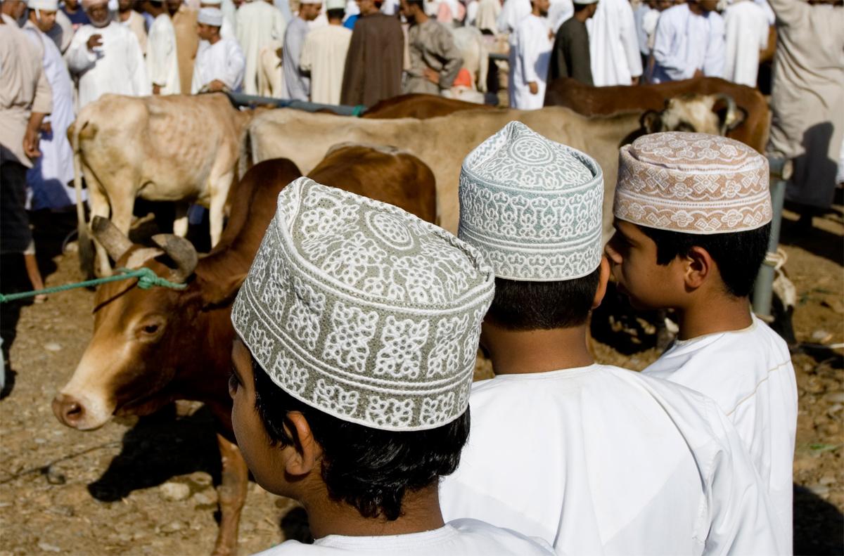 Típico sombrero Omaní