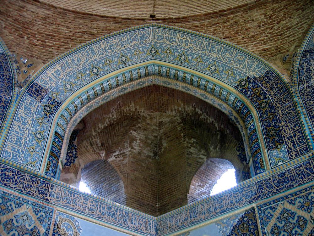 Interior-de-la-Mezquita-Azul-de-Tabriz