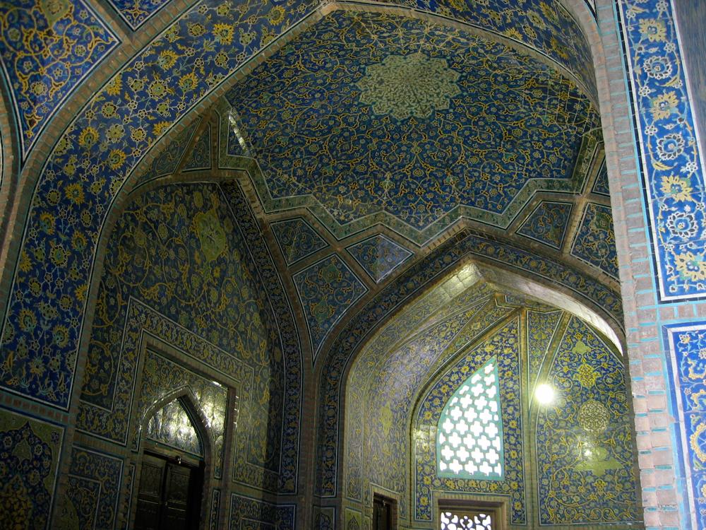 Interior-de-la-Mezquita-de-Sheikh-Lotfollah