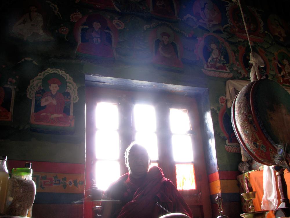 Interior-del-Monasterio-de-Lha-Khang