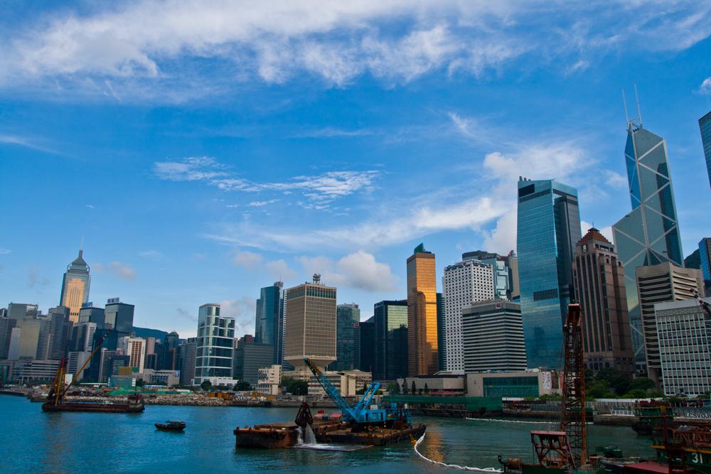 Rascacielos y glamour en Hong Kong