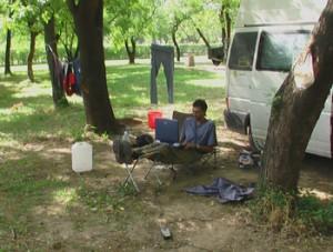 Haciendo hogar en el camping