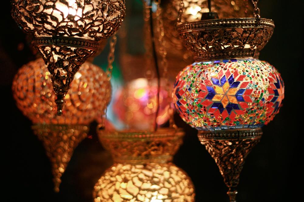 Lámparas-en-el-Gran-Bazar