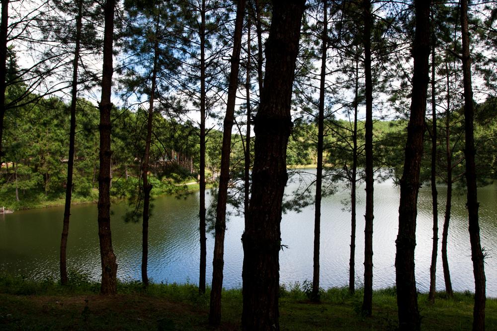 Lago-de-montaña