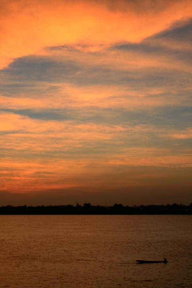 Mekong-al-atardecer