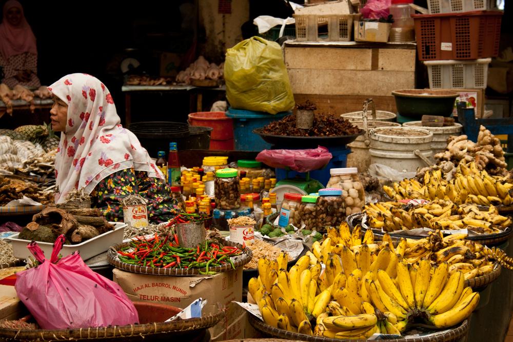 Mercado-en-Kota-Bahru