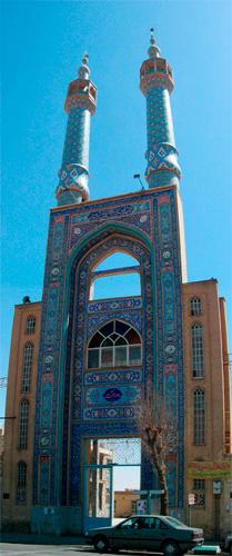 Mezquita-en-Yazd