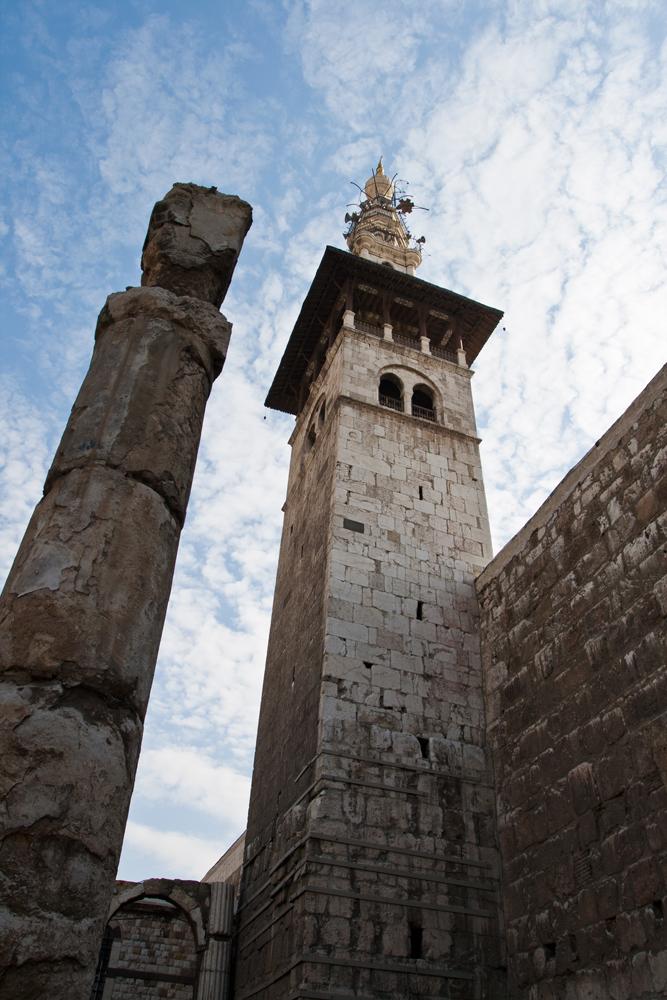 Minarete-de-la-Mezquita-de-los-Omeyas