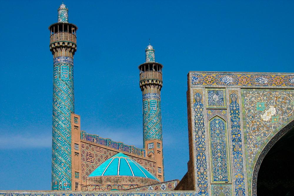 Isfahan y la plaza del Imam