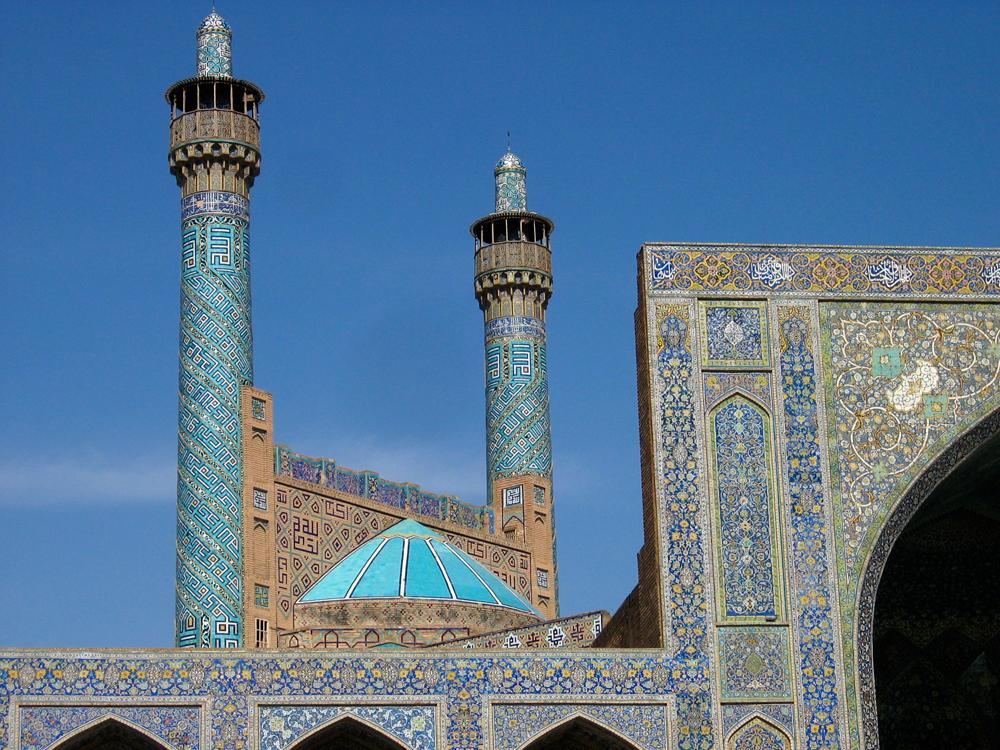Minaretes-de-la-mezquita-del-Imam