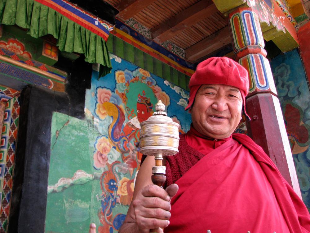 Monje-Tibetano