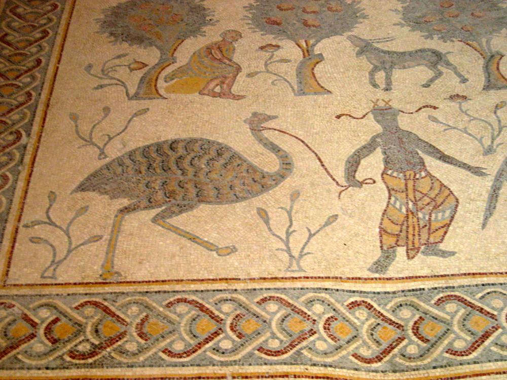 Mosaico-de-una-villa-en-Madaba