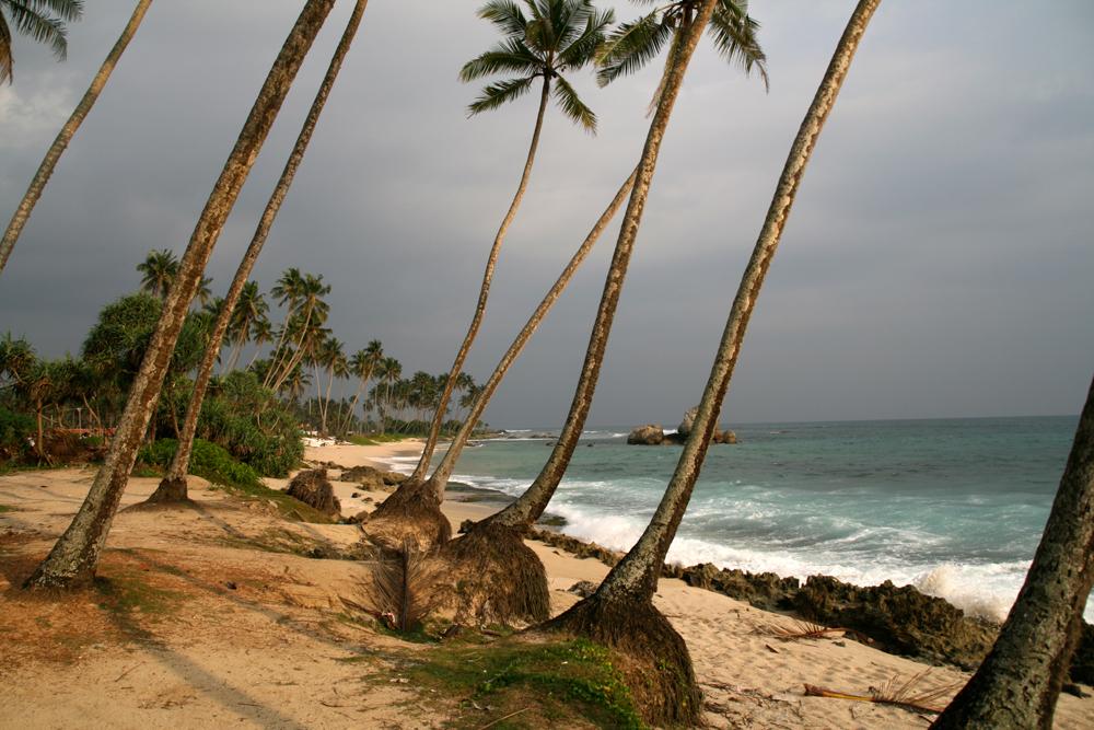 Costa sudoeste de Sri Lanka