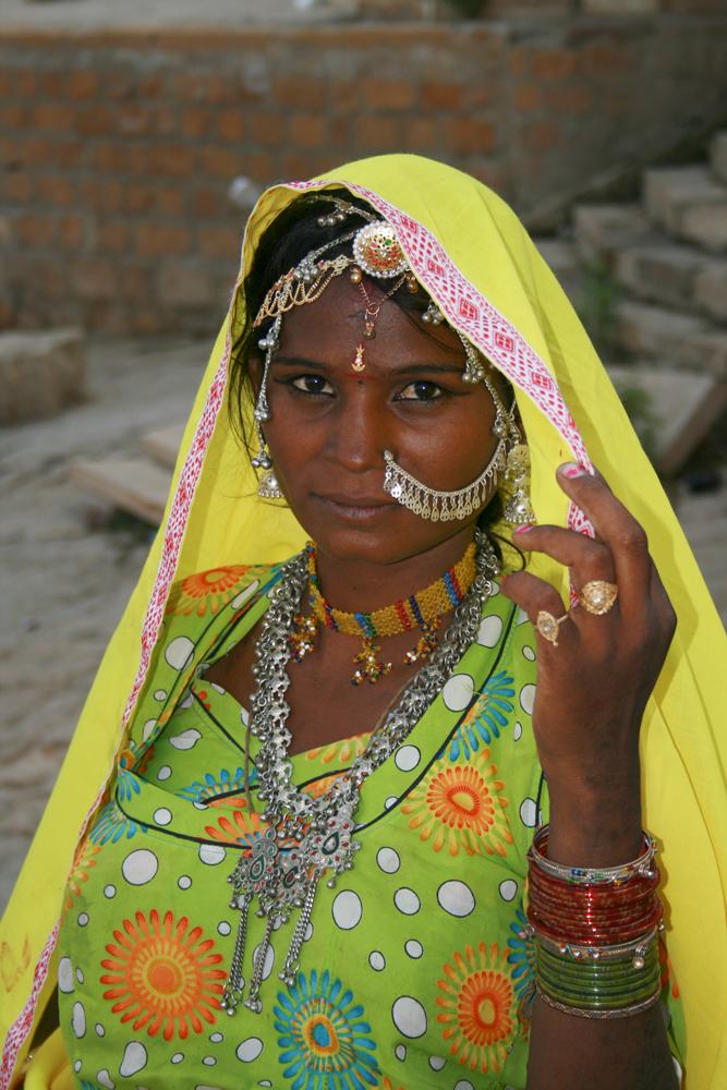 Mujer-rajastaní
