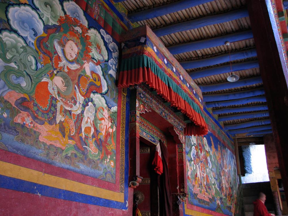 Mural-en-monasterio-II