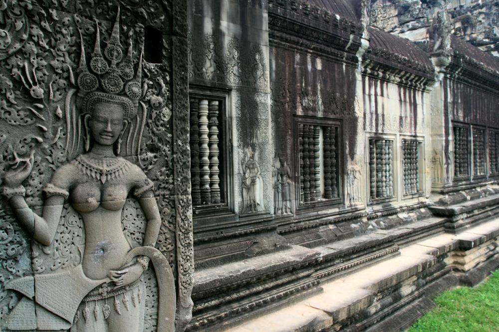 Muros-del-templo-de-Angkor