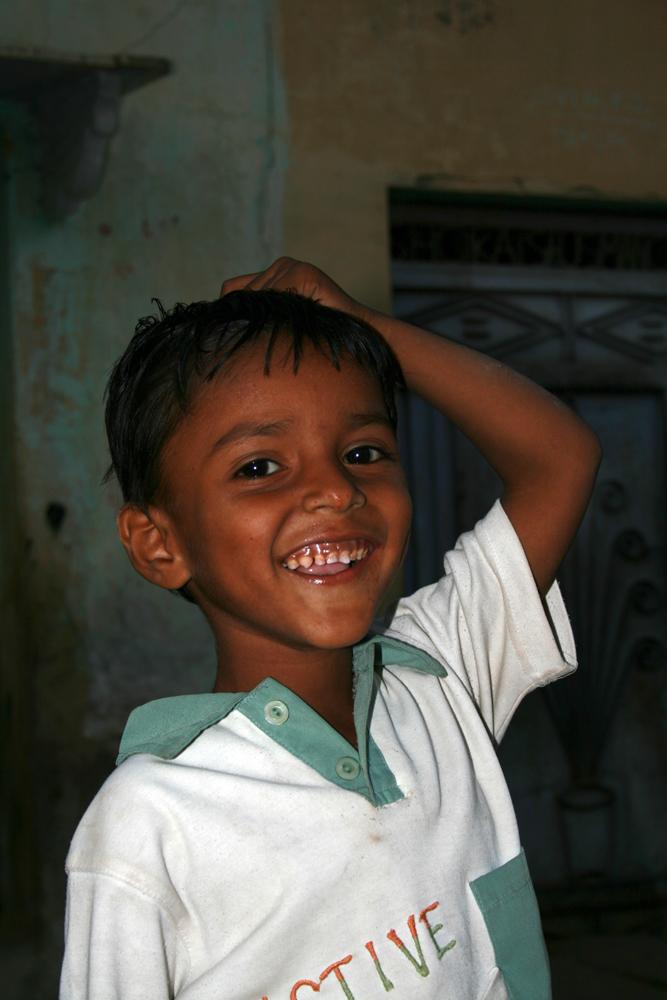 Niño-sonriente