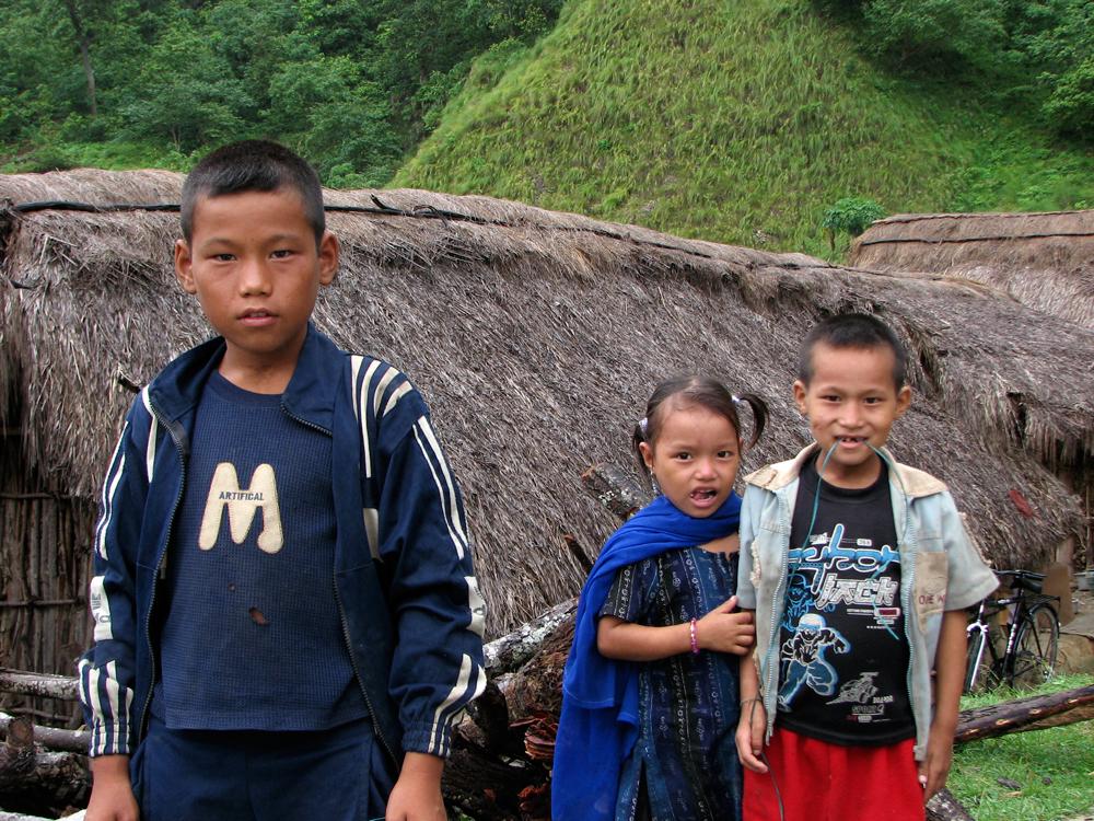 Niños-en-Terai