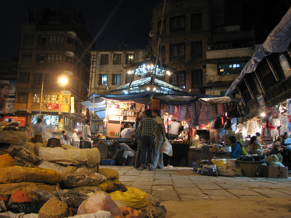 Noche-en-Katmandú