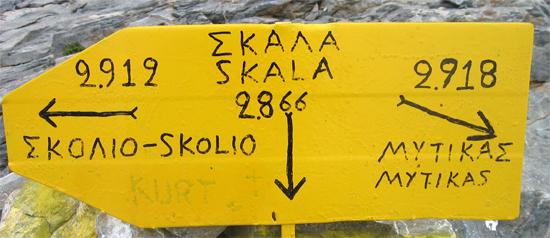 Señales a la griega