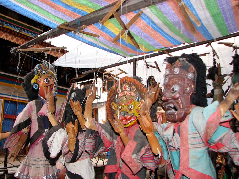 Ostentosas-marionetas