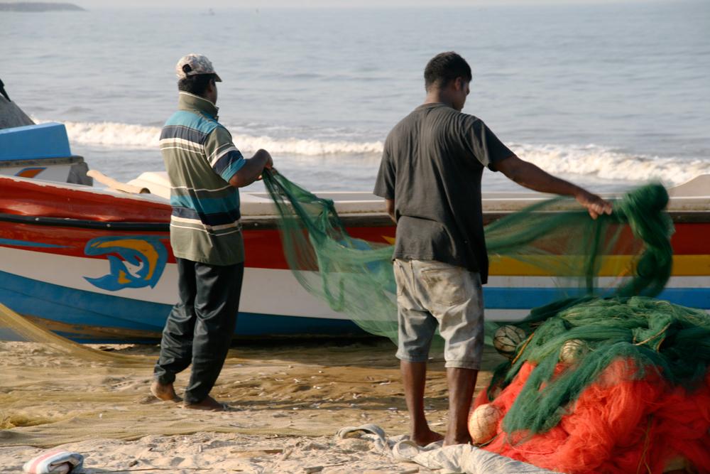 Pescadores-en-Negombo