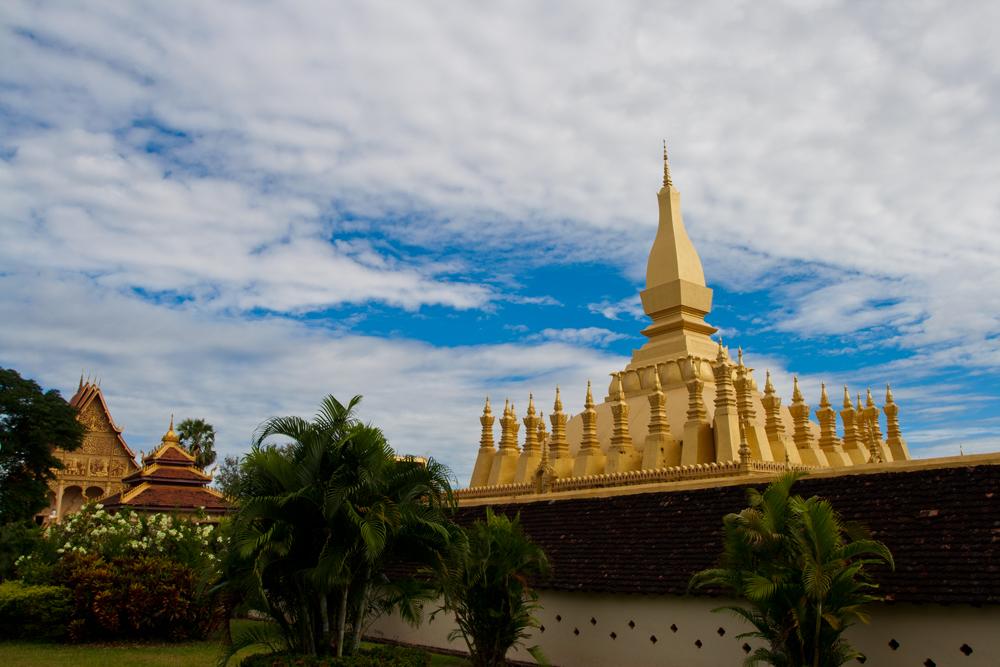 Vientiane, a orillas del Mekong