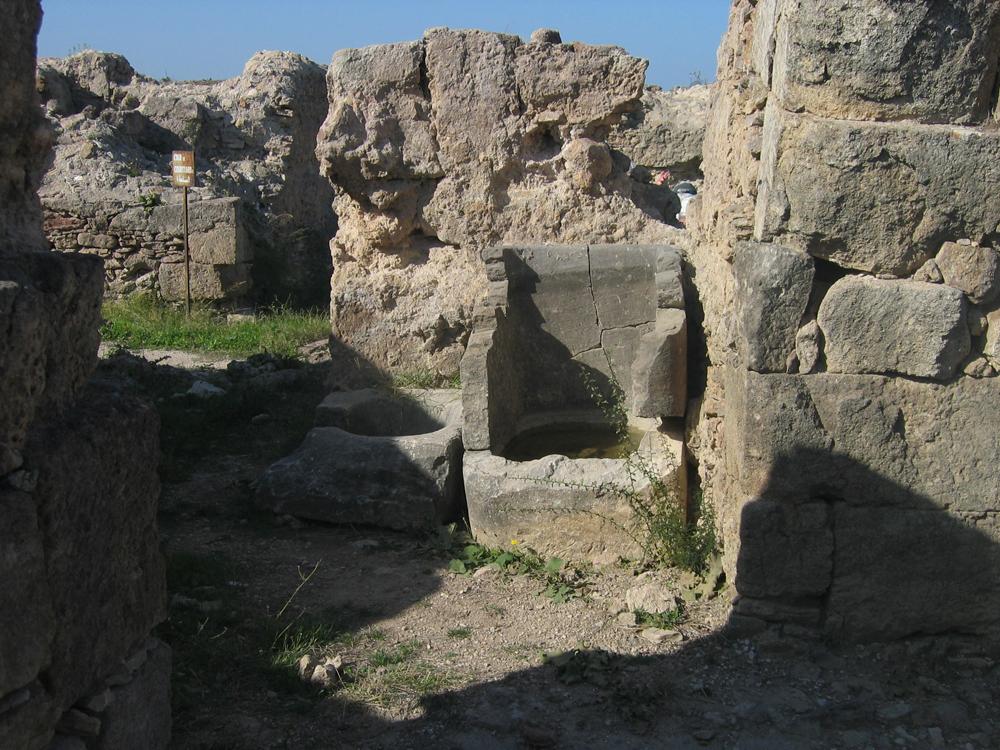Pilas-de-agua-en-Ugarit