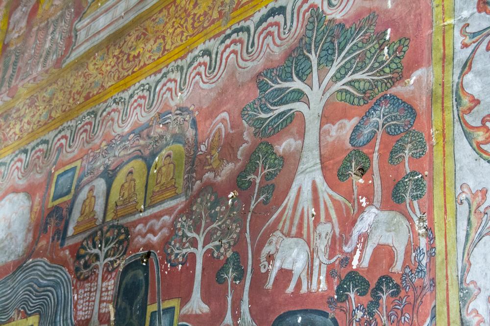 Pintura-en-Dambulla