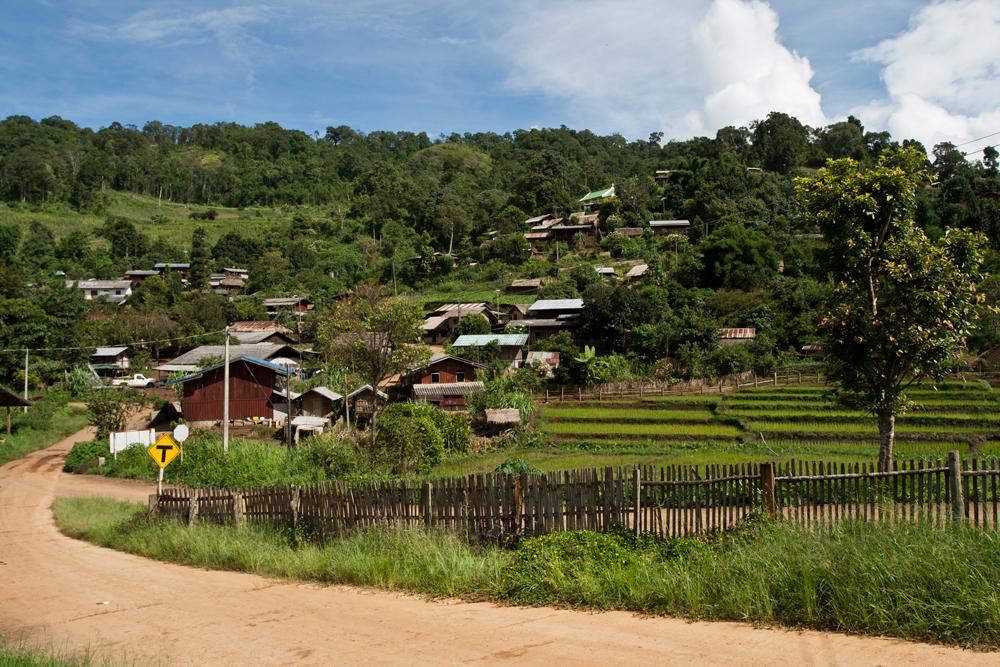 Poblado-del-noroeste-de-Tailandia