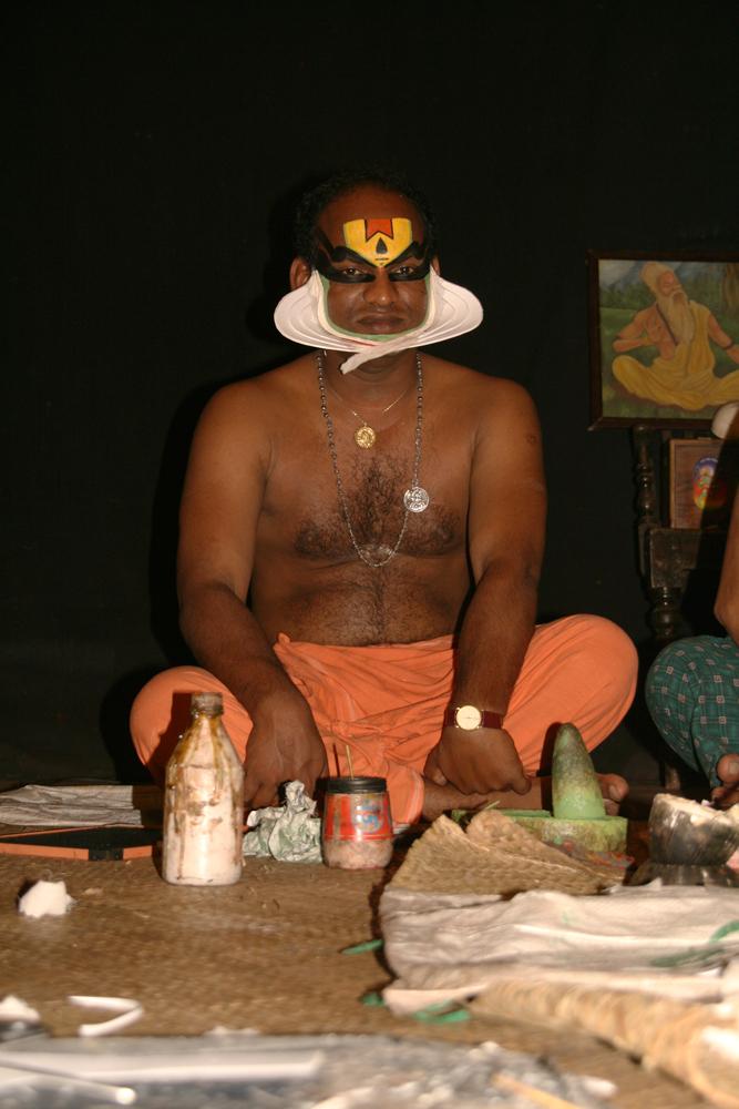 Preparación-de-Kathakhali-II