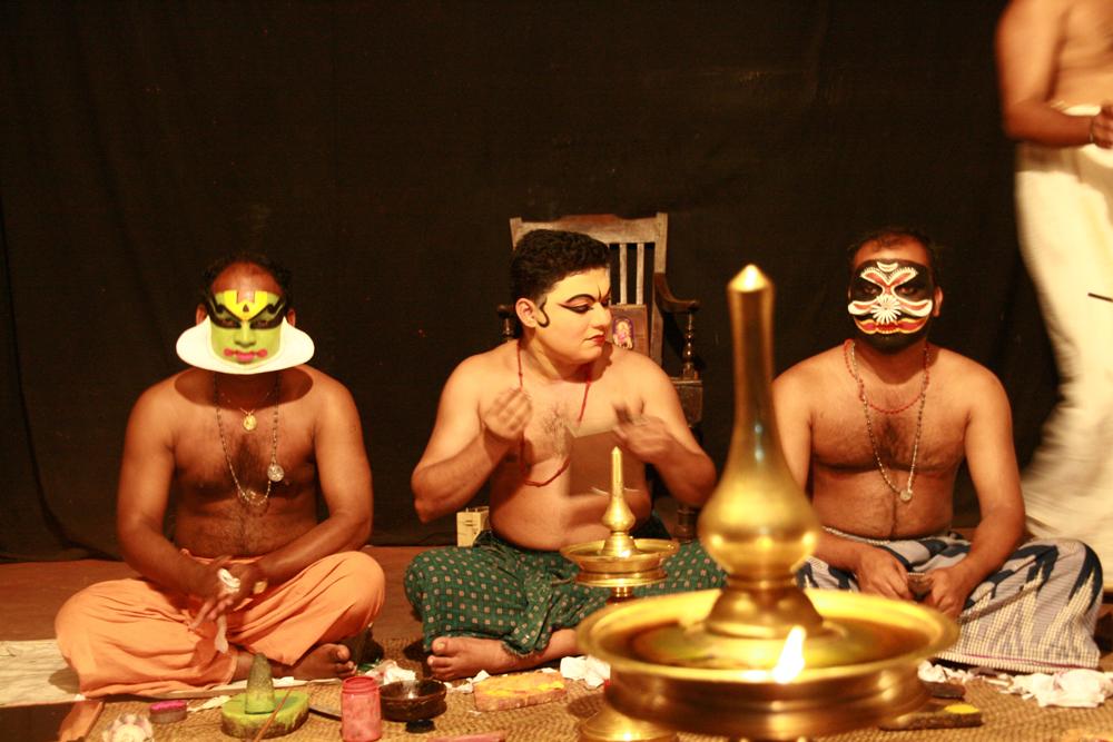 Preparación-de-Kathakhali-III