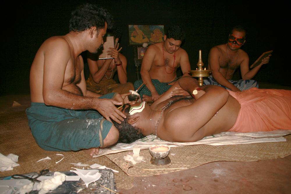 Preparación-de-Kathakhali
