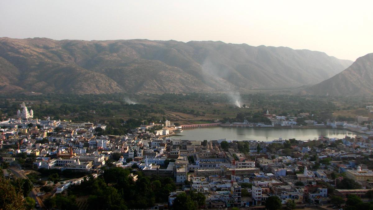 Pushkar-y-el-lago