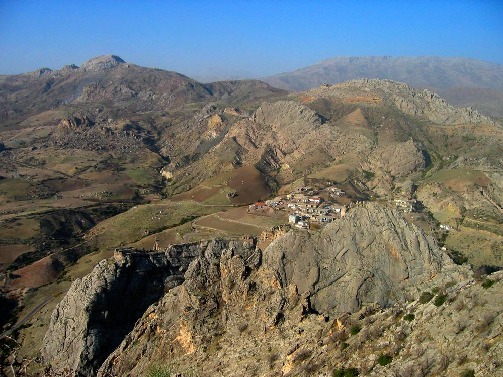 Región-montañosa