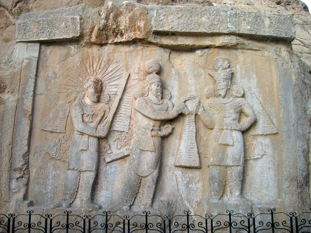 Relieve-Aqueménida-en-Bisotun