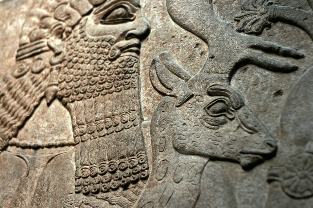 Relieve-en-el-Museo-Británico