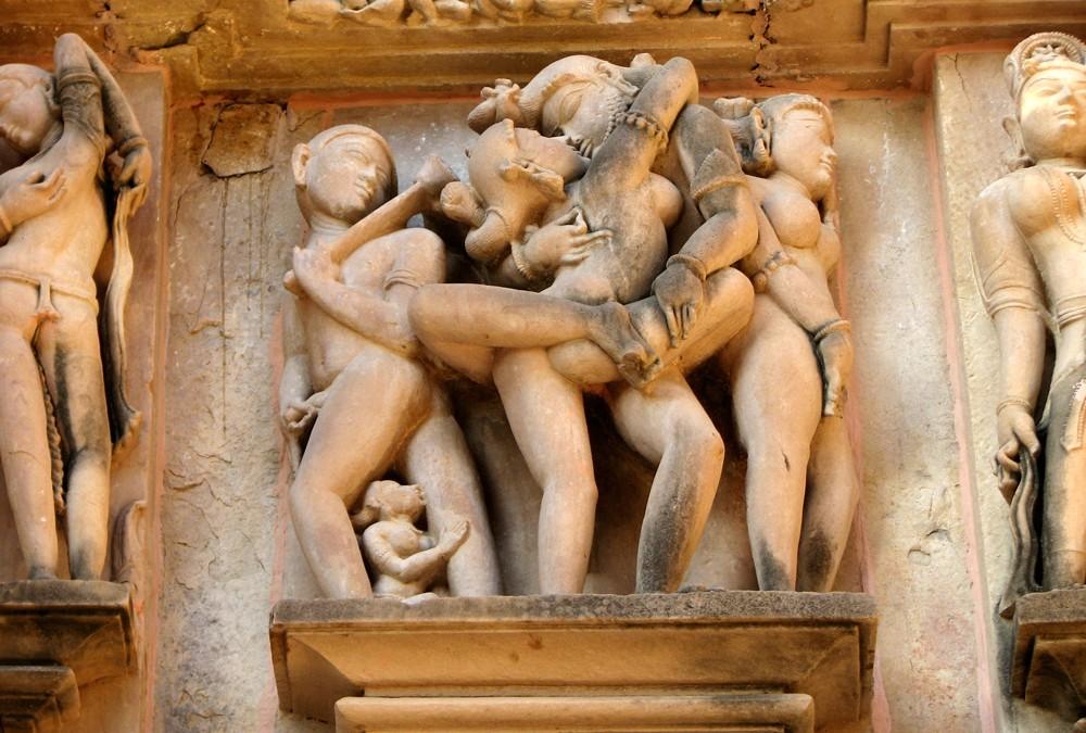 Templos eróticos de Khajurao