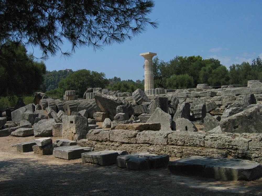 Restos-arqueológicos-de-Olimpia