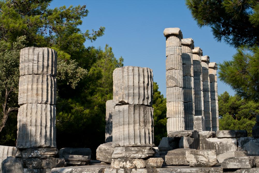 Priene y Mileto y Didyma