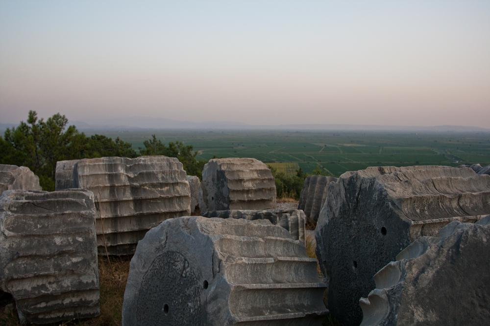 Restos-de-columnas-en-Priene