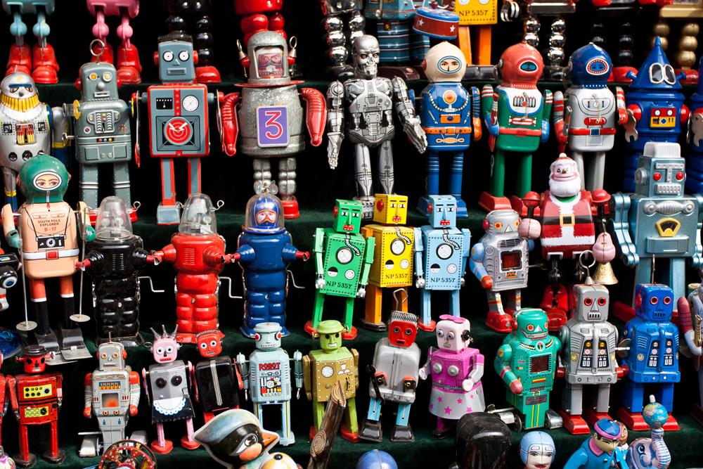 Robots-de-latón