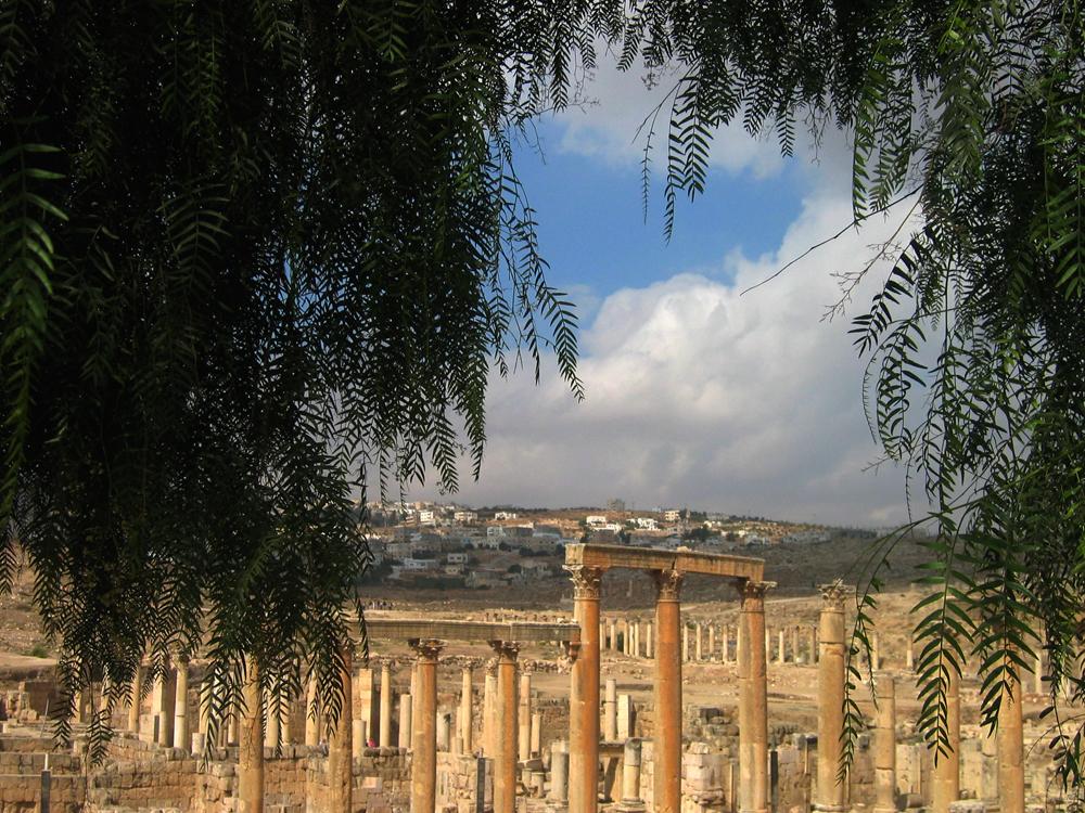 Ruinas-de-Jerash