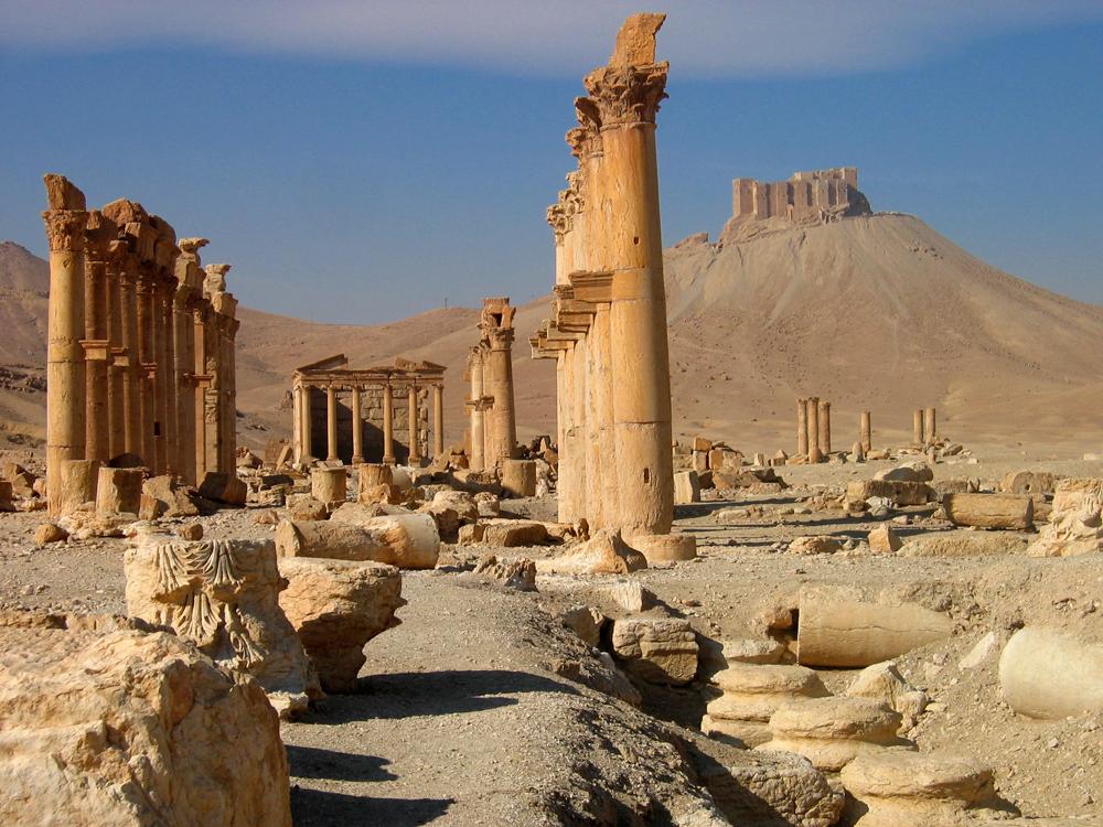 Ruinas-de-Palmira